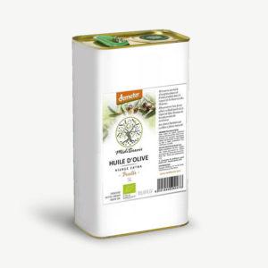 bidon huile d'olive Demeter 5L