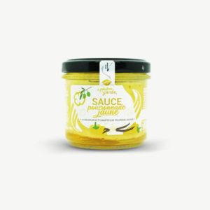 sauce poivron jaune bio